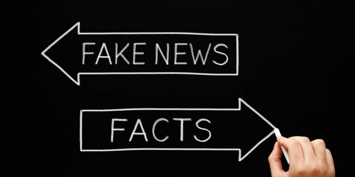 Fake News vs Facts - gtaphic