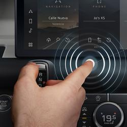Predictive touch  Credit: Jaguar Land Rover
