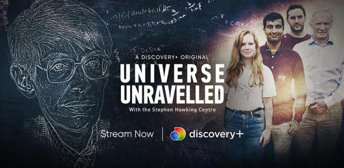 Universe Unravelled  Credit: Discovery+