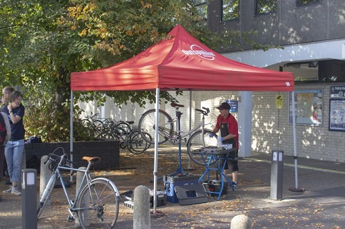 cycle event in Cambridge