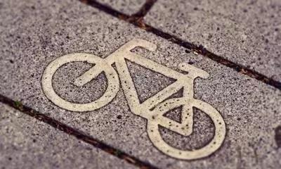 cycling road marking