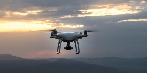 Drone at dawn_Image by Pexels from Pixabay