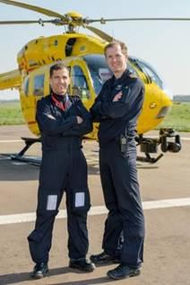 eaaa pilots wearing Sepura radio