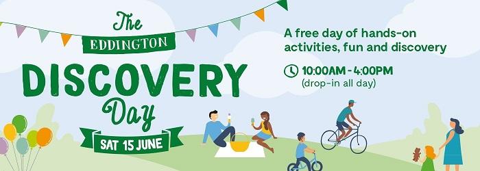 Eddington Discovery Day banner
