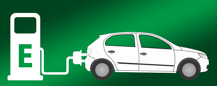 Electric car: Image by Gerd Altmann from Pixabay