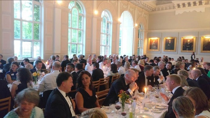 Cambridge Network Founders' party at Newnham College