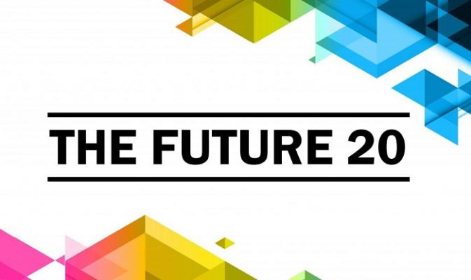 The Future 20 banner