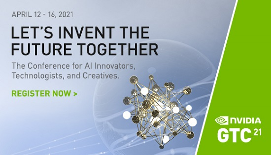 NVIDIA GTC conference banner