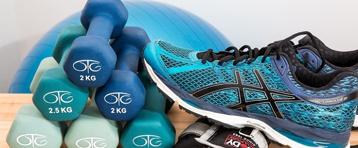 Gym equipment and trainers