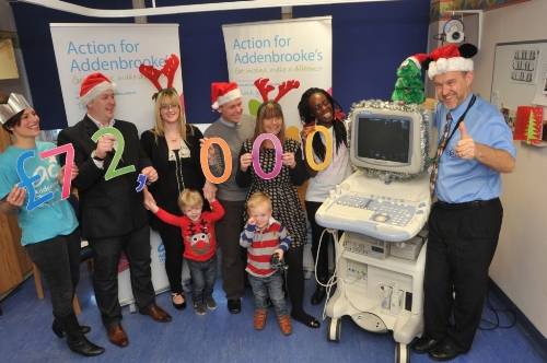 Christmas Present Scanner.Fantastic Christmas Present As 72 000 Is Raised For New