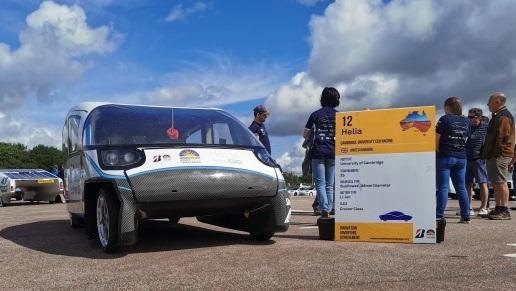 CUER solar car Helia