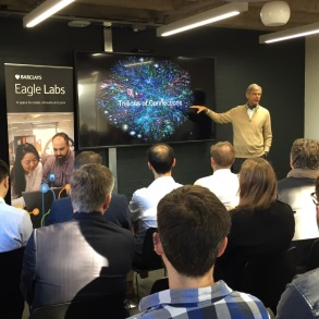 Year one of Barclays Eagle Labs in Chesterton | Cambridge