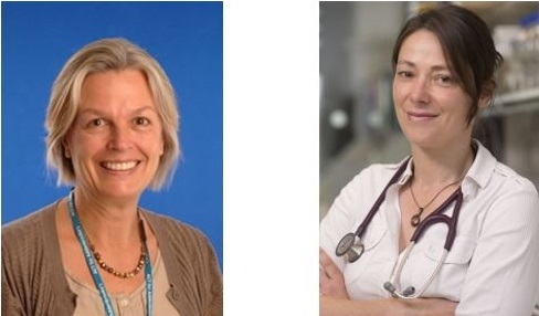 Dr Helen Firth (left) and Prof Menna Clatworthy