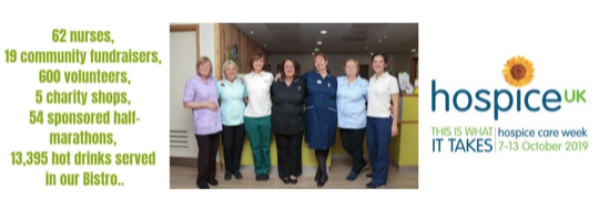 Hospice Care weeks at Arthur Rank Hospice Charity 'This is what is takes