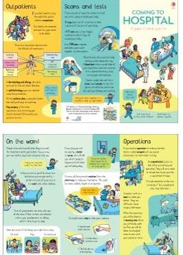 hospital leaflet for children