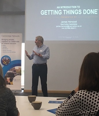 James Harwood talks about 'Getting Things Done'