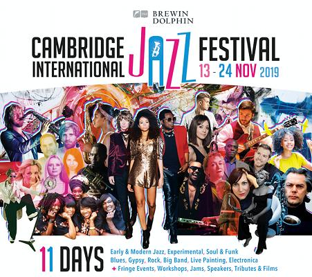 Cambridge Jazz Festival banner