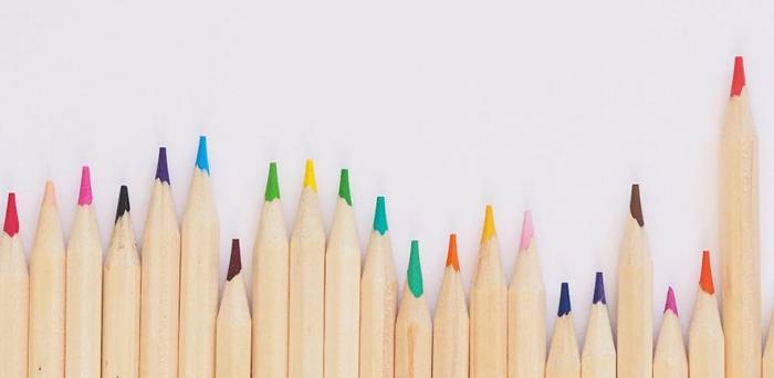 Coloured pencils Credit: Jess Bailey on Unsplash