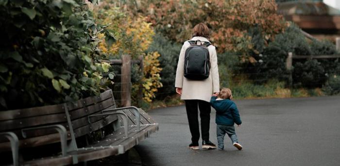 Mum and toddler  Credit: KE ATLAS