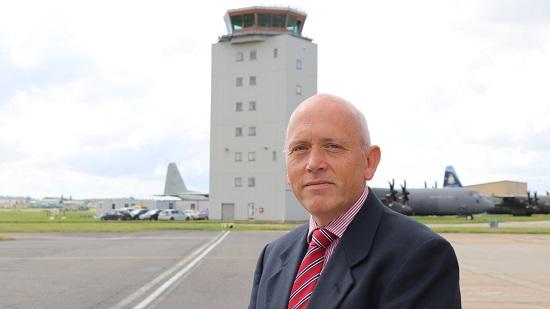 Cambridge Airport's new director, Kevan Craske