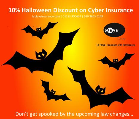La Playa offers 10% Halloween discount on cyber insurance