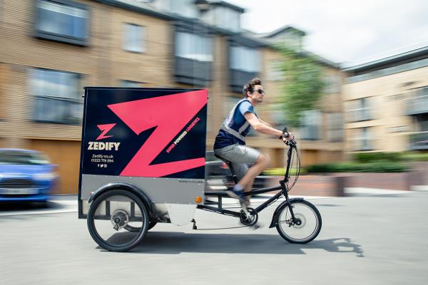 Zedify livery on trike