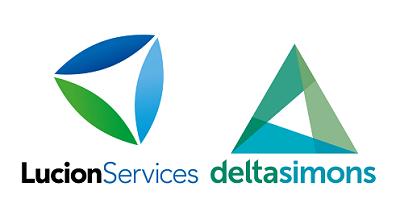 Lucion Services and Delta-Simons logos
