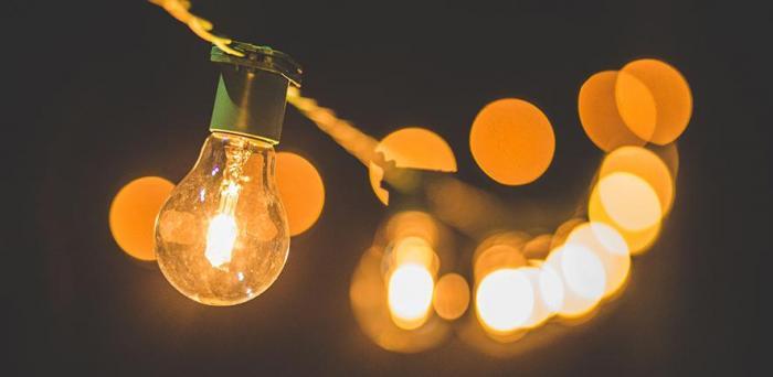 Light bulbs  Credit: Luis Tosta on Unsplash