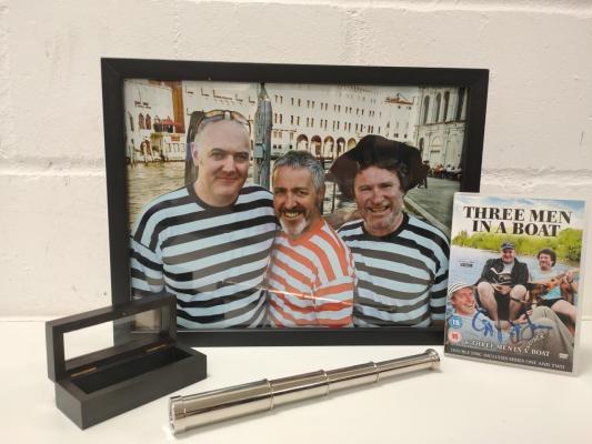 Memorabilia from 3 Men in a boat