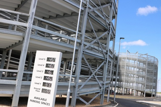 London Stansted's first multi-storey car park