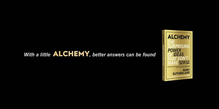 book voer: Alchemy: The Surprising Power of Ideas That Don't Make Sense'