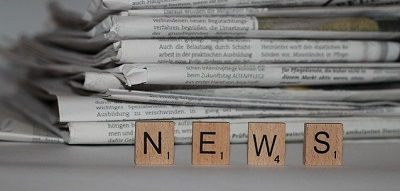 Newspapers and the word 'news' spelt out in scrabble pieces_Image by Michael Bußmann from Pixabay