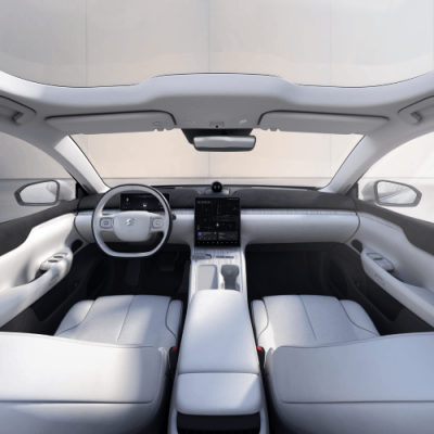 Digitasl cockpit technologies from Qualcomm in NIO's first flagship sedan, the NIO ET7.
