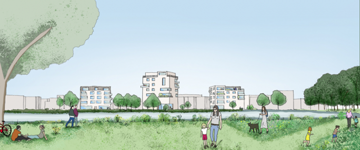 Northstowe Phase 3A artist's impression