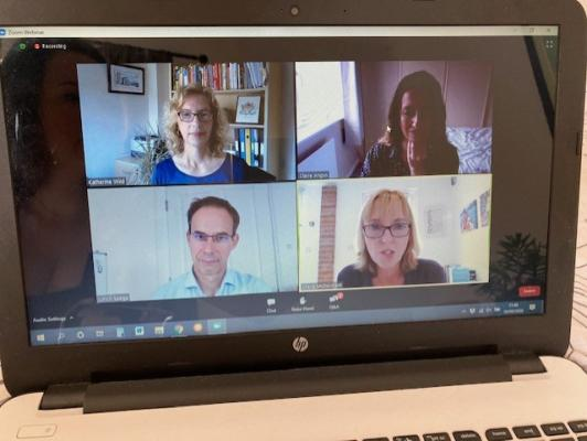 Virtual panel discussion at Cambridge Network's Jobs & Careers Fair