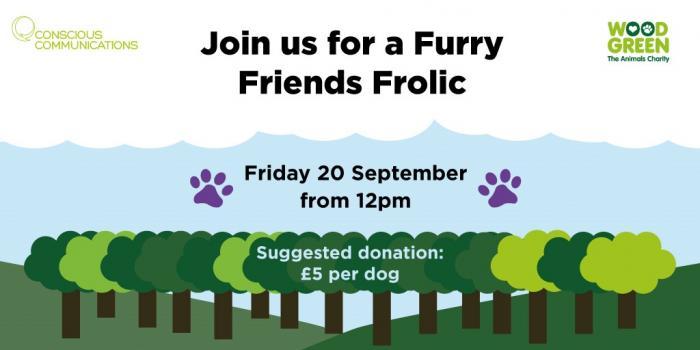 Furry Friends Frolic banner