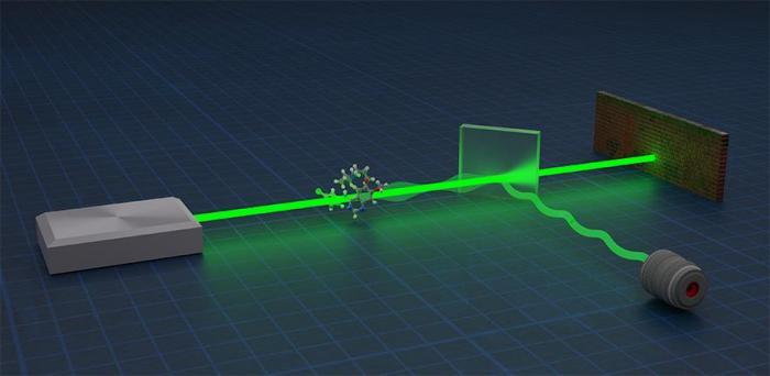 Artist's impression of a quantum metrology device  Credit: Hugo Lepage