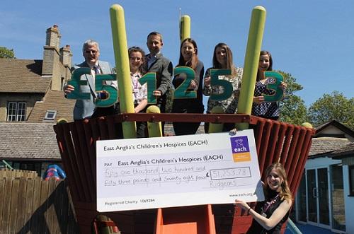 Ridgeons raises £51,000+ for EACH