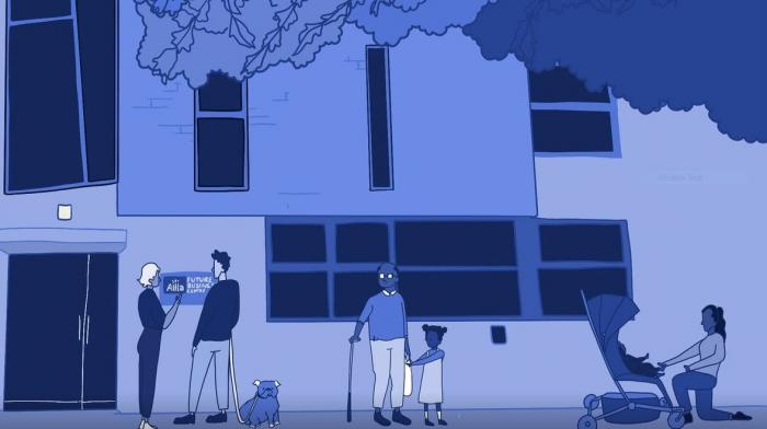screenshot from the animated film