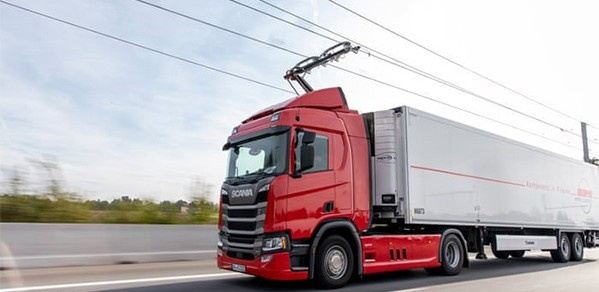 Lorry on the highway Image Credit: Siemens
