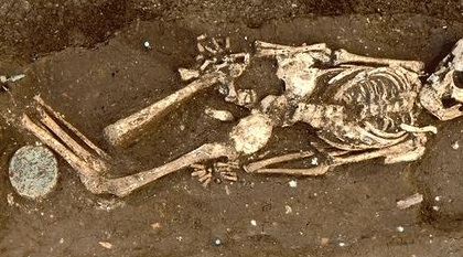 skeleton - Image credit:  Directorate General of Antiquities (Lebanon)