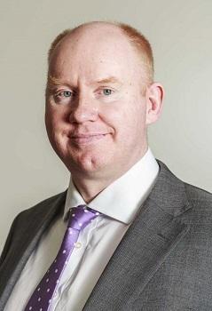 Stuart Wilkinson, Office Managing Partner at EY in Cambridge