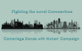Cambridge stands with Wuhan! - campaign banner