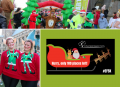 Ely festive 5K runner at Arthur Rank Hospice Charity event last year