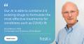 Healx  COVID-19 banner