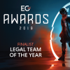 EG Awards finalist - Legal team of the year - banner