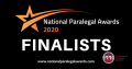 National Paralegal Awards finalist poster