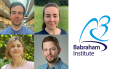New group leader appointments at the Babraham Institute, showing Dr Ian McGough (top left), Dr Teresa Rayon (top right), Dr Sophie Trefely (bottom left) and Dr Philipp Voigt (bottom right)