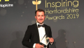 Rubber Cheese wins 'Business of the Year Small to Medium' in the Inspiring Herts Awards 2019