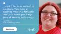Meri Williams joins Healx as Chief Technology Officer_banner